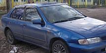 Дефлектори вікон Nissan Almera I Sd (N15) 1995-2000 | Вітровики Ніссан Альмера
