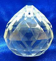 Кристалл хрустальный подвесной (4см)