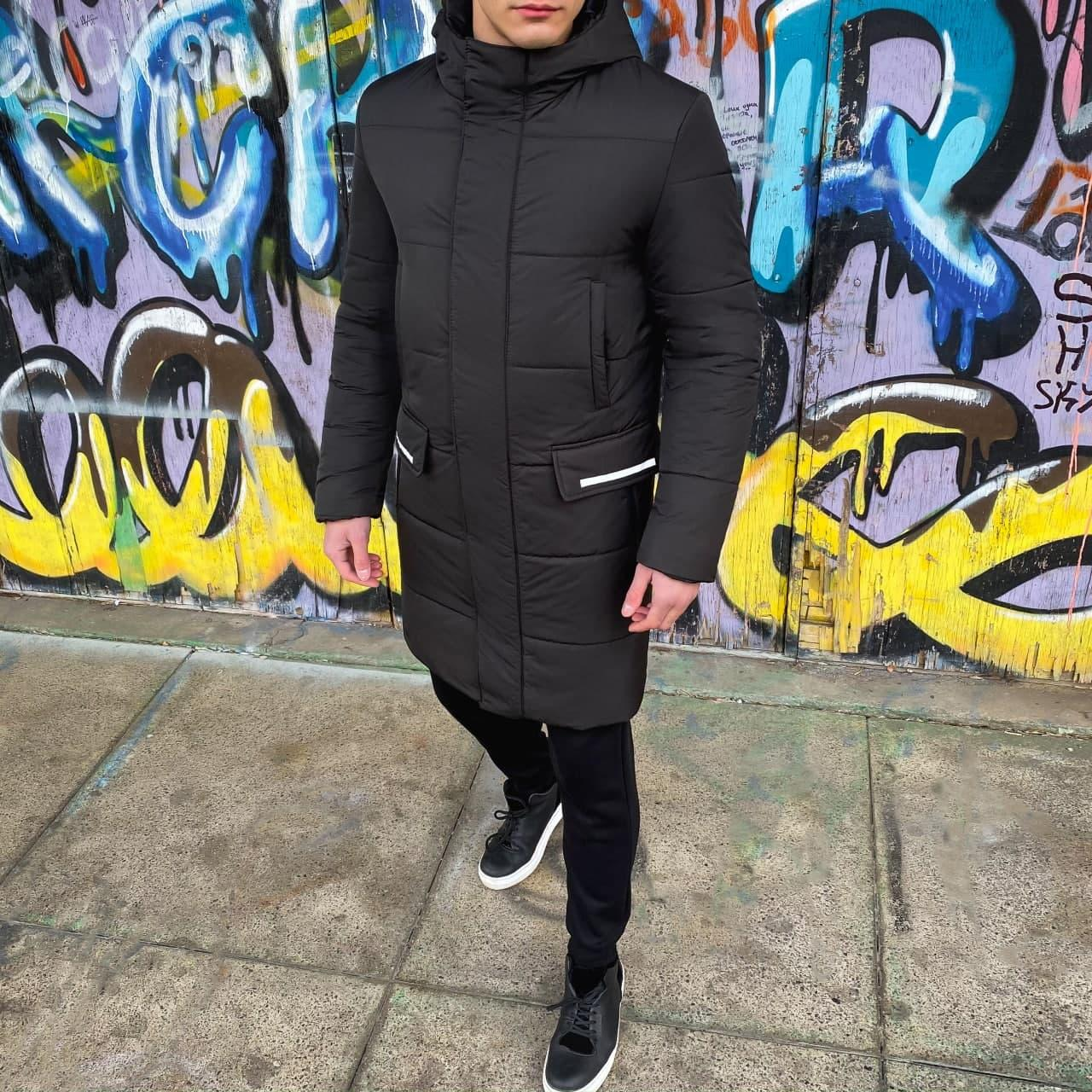 "Куртка Pobedov Winter Jacket ""Interstellar"" черная"