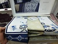 Постельное белье Saten  200*220 (ТМ ARAN CLASY) ADVINA V1, Турция, фото 1