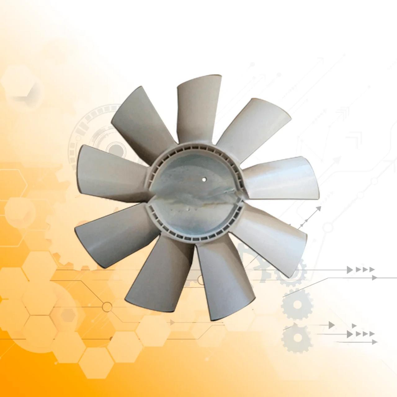 Крыльчатка вентилятора ЯМЗ 238Н (универсальн.) (пласт.9-лопаст.) (пр-во Украина) 238Н-1308012