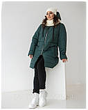Жіноча куртка  «Лайма» великі розміри, фото 3