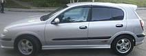 Дефлектори вікон Nissan Almera II Hb 5d (N16) 2000-2006 | Вітровики Ніссан Альмера