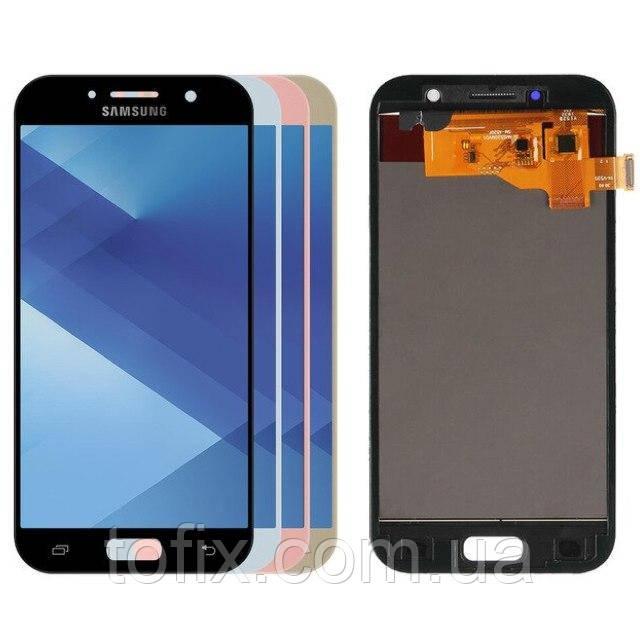 Дисплей для Samsung Galaxy A5 (2017) A520, модуль в сборе (экран и сенсор), OLED