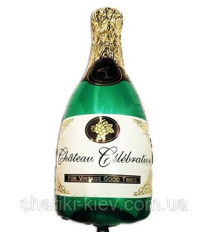 Шар Бутылка Шампанского Большая, фото 2