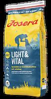Диетический сухой корм для снижения и контроля веса собак JOSERA Light & Vital (15 кг.)