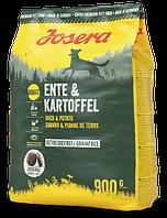 Сухой корм для собак JOSERA Ente & Kartoffel с уткой и картофелем без зерновых (0.9 кг.)