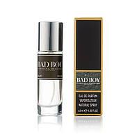 Мужской мини парфюм Carolina Herrera Bad Boy - 40 мл (320)