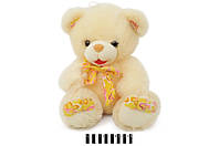 Ведмедик  з бантом  розовий S38-3414X55 SK