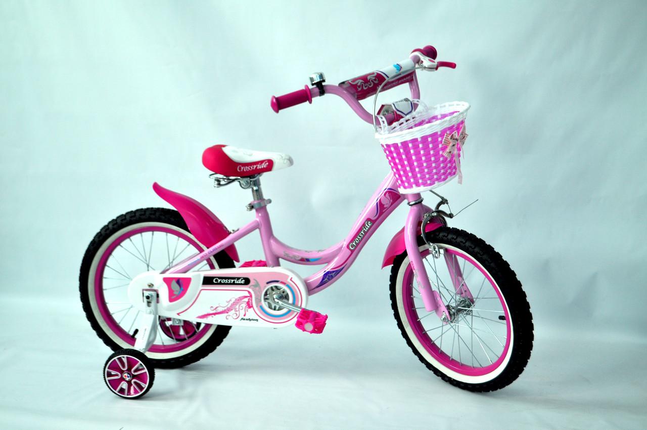"Велосипед дитячий Crossride Vogue Classic 16"""