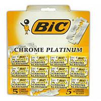 Лезвия для бритья Bic Chrome Platinum. Оригинал