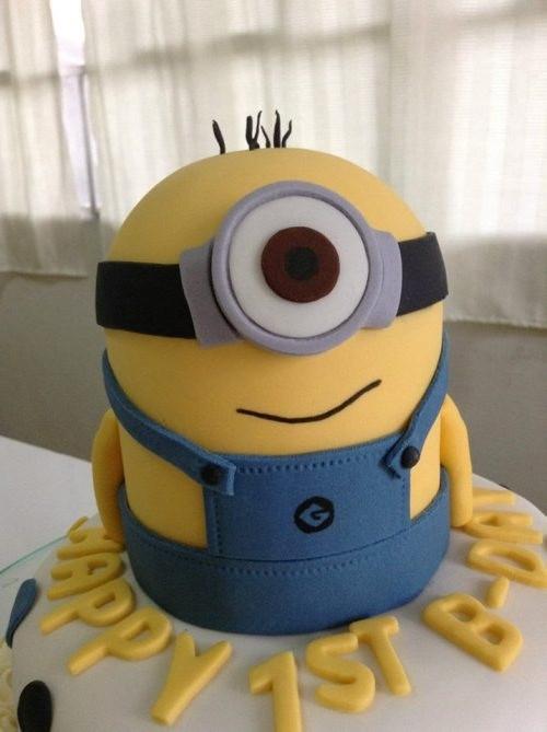 Торт Миньоны