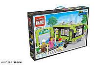 Конструктор Brick (1121)  Автобус 418 дет., 6лет,  в разобр. кор. 65-41-29 см