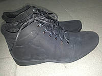 Ботинки мужские нубуковые зимние MASIS 1506нуб черн