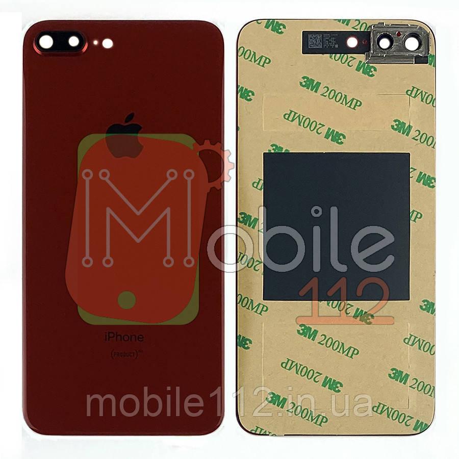 Задняя крышка Apple iPhone 8 Plus красный оригинал Китай со стеклом камеры