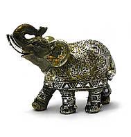 Слон полимер (9,5х10,5х3,5 см)