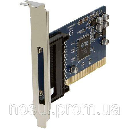 Sedna PCI1PCM-E01 ENE CB-1410QF картридер PCI - PCMCIA 16bit Cardbus 32 bit (поддержка PCMCIA 2.1 jaida 4.2)