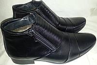 Ботинки мужские кожаные зимние MASIS 1533