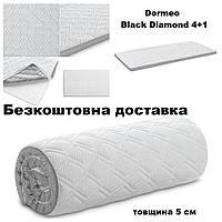 Топпер Dormeo Black Diamond 4+1 90х200, Матрас Дормео Блэк Даймонд 5 см