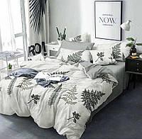 Практичное постельное бельё двуспальное, адіантум