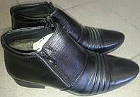 Ботинки мужские кожаные зимние MASIS 4034