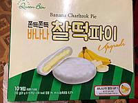 Десерт Моті зі смаком банана в глазурі Banana chaltteok pie 310 грам