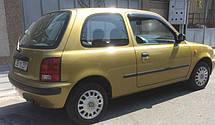 Дефлектори вікон Nissan March 3d (K11) 1992-2002 | Вітровики Ніссан Марч