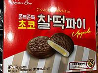 Десерт Моті з горіховим смаком в шоколаді Banana charlteok pie 310 грам
