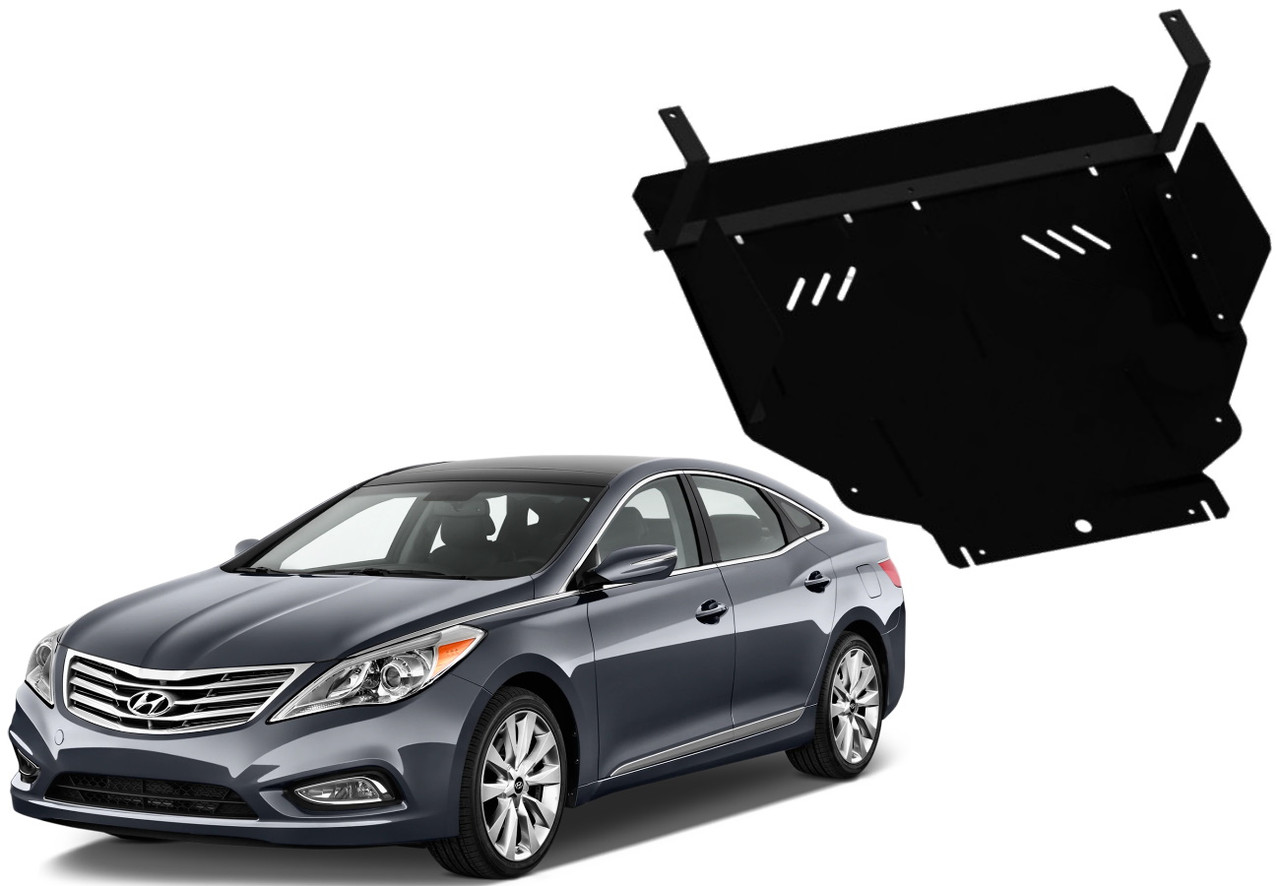 Защита двигателя Hyundai Grandeur V HG 2011-2016