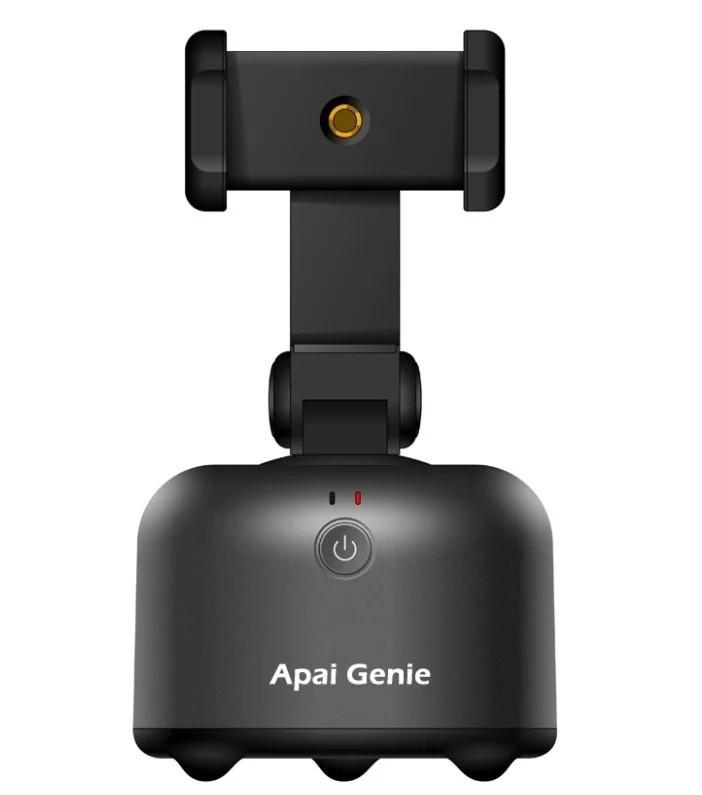 Смарт-штатив 360° умный держатель для смартфона Apai Genie 2 с датчиком движения Черный