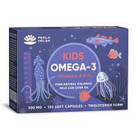 """Рыбий жир для детей """"KIDS Омега-3 + Витамины А и D3"""", 120 капсул"""
