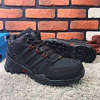 Мужские ботинки Adidas Terrex зимние кроссовки Адидас терекс черные. Наличие размеров в описании