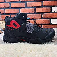 Мужские ботинки Adidas Terrex, (Черные зимние кроссовки адидас терекс). Наличие размеров в описание