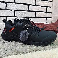 Зимние ботинки адидас терекс черные, (Мужские кроссовки adidas terrex) Наличие размеров в описание