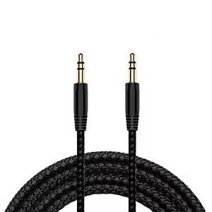 Аудио кабель удлинитель AUX 3,5мм - 3,5мм / Jack-Jack черный 3 метра (черный)