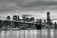 Фотообои город 254x184 см Бруклинский мост (011P4)