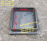 Дверца чугунная люк для золы, сажетруска, сажечистка, печи, барбекю, мангалы, грубу, фото 2