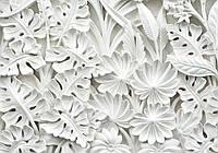 Фотообои 3D цветы 254x184 см Узоры из керамики (10052P4)