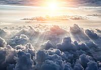 Фотообои 3D Небо 254x184 см Над облаками 10109P4