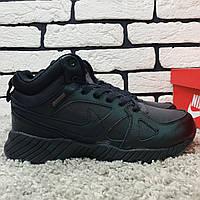 Зимние мужские кроссовки Nike, Ботинки Найк черные. Наличие размеров в описании