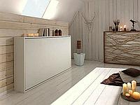 Горизонтально-откидная шкаф-кровать, фото 1
