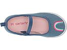 Слипоны для девочек, детская обувь Carters Картерс размер US 7,8,9, фото 2