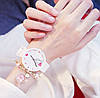 Часы женские с сердечком три цвета ремешка, фото 3