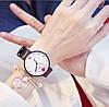 Часы женские с сердечком три цвета ремешка, фото 5