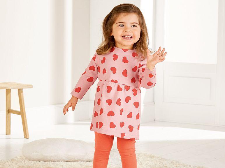 Детское платье Lupilu на девочку 1-2 года, рост 86/92