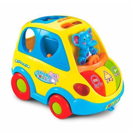 Игрушка-сортер Hola Toys Умный автобус (896)