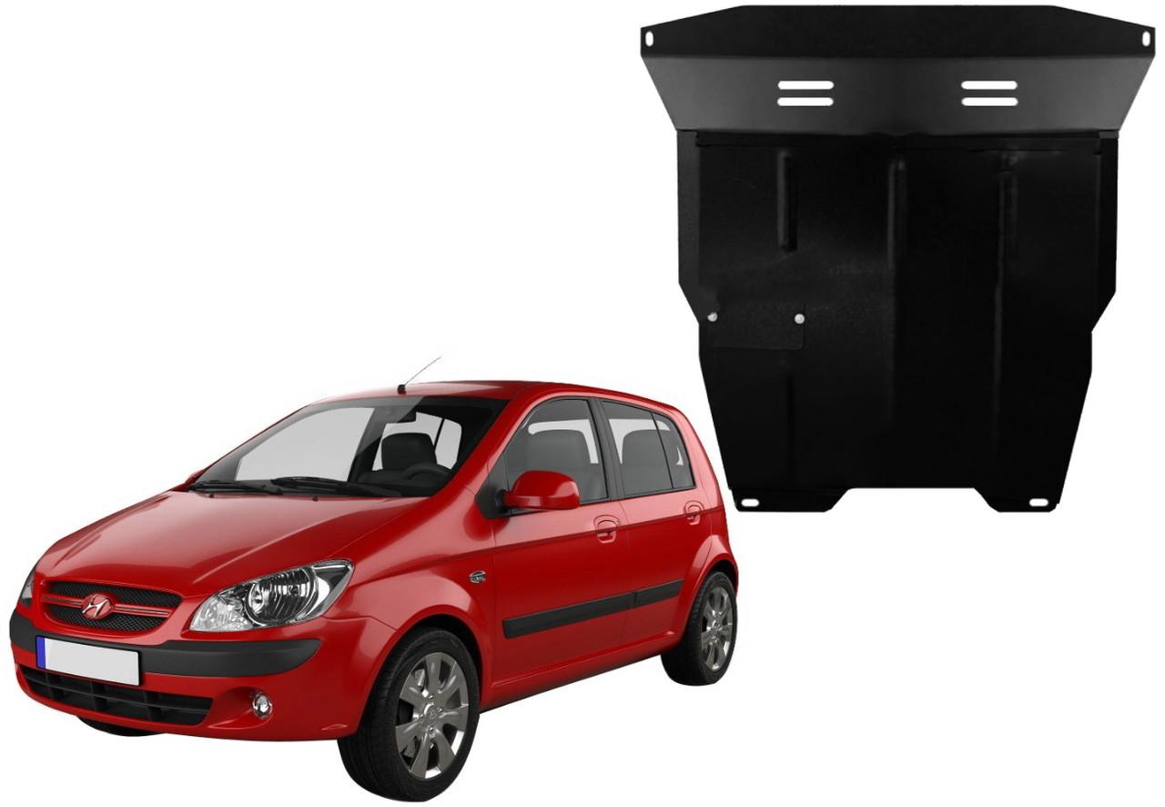 Защита двигателя Hyundai Getz 2002-2011