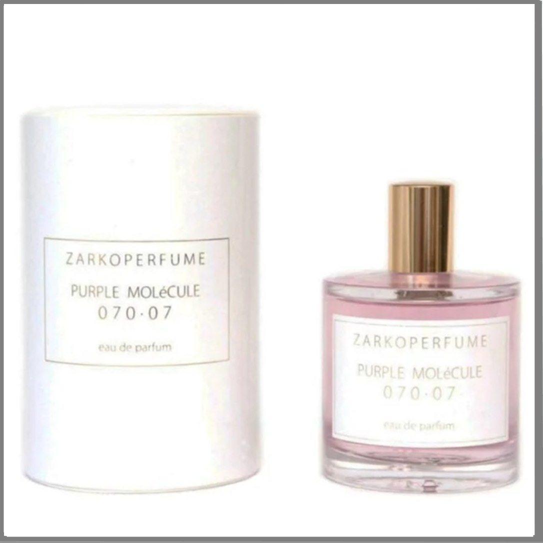 Zarkoperfume Purple Molecule 070.07 парфюмированная вода 100 ml. (Заркопарфюм Пурпурная Молекула 070.07)