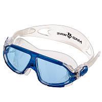Окуляри-напівмаска для плавання MadWave SIGHT II (полікарбонат, термопластична резина, силікон)