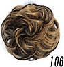Резинка с волос накладная  гулька  накладной пончик  бублик  хвост в прическу для прически, фото 5